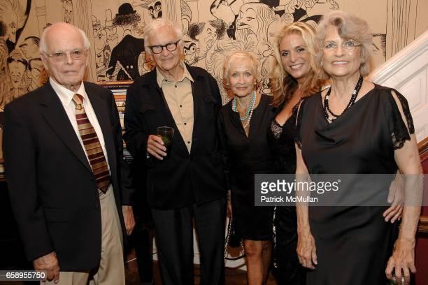 Dick Moore Albert Maysles Jane Powell Jennifer Berghaus and Louise Kerz Hirschfeld attend JENNIFER BERGHAUS private collection Fashion Launch Party...