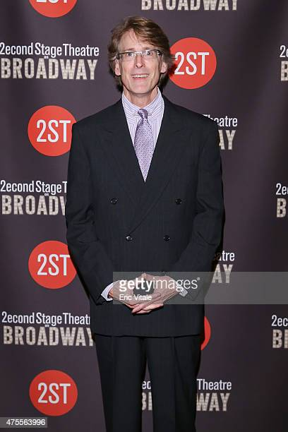 Dick Scanlan attends the Second Stage 36th Anniversary Gala at 583 Park Avenue on June 1 2015 in New York City