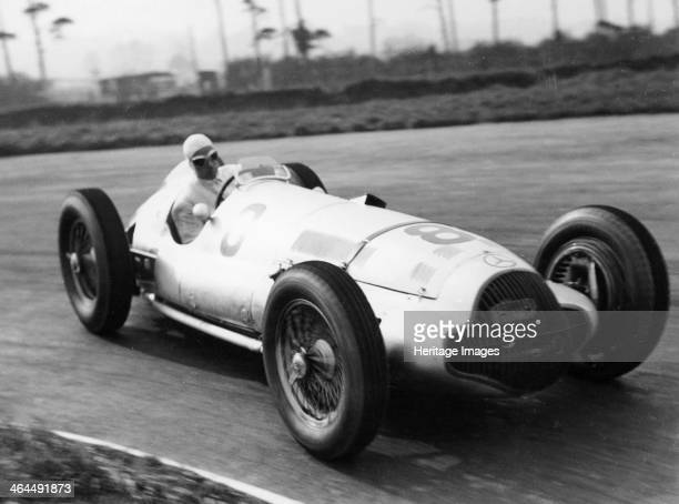 Dick Seaman's Mercedes Donington Grand Prix 1938 He finished third in the race Seaman began his racing career driving a Bugatti in 1933 He won...