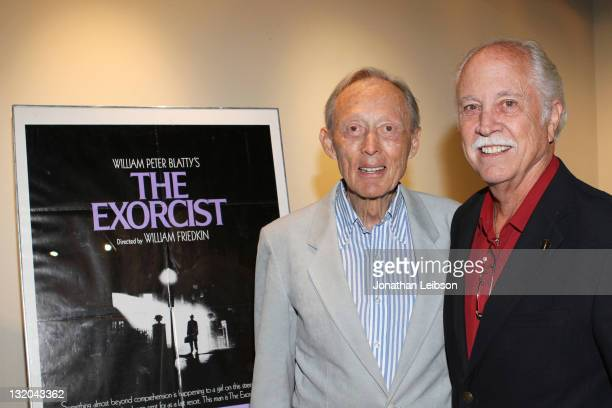 Dick Smith and Leonard Engelman attend the Academy Of Motion Picture Arts And Sciences Inaugural Governors Awards Film Series Presents The The...