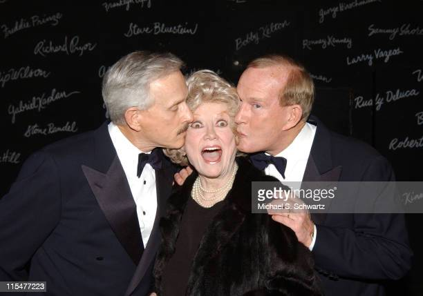 Dick Smothers Phyllis Diller and Tommy Smothers during The Smothers Brothers Perform at The Comedy Store at The Comedy Store in Hollywood California...