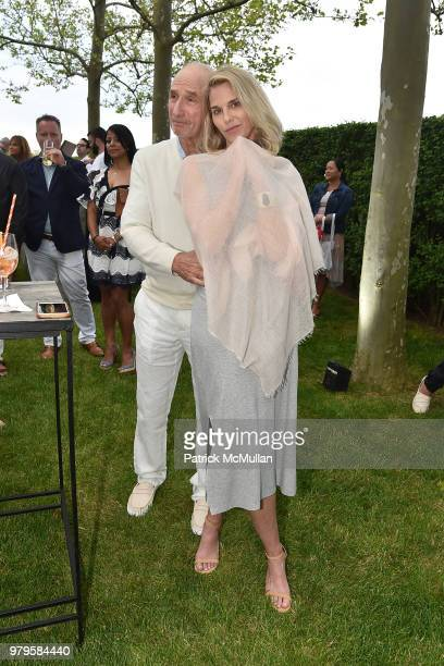 Dick Tarlow and Kristin Kehrberg attend The 18th Annual Midsummer Night Drinks Benefiting God's Love We Deliver at Private Residence on June 9 2018...
