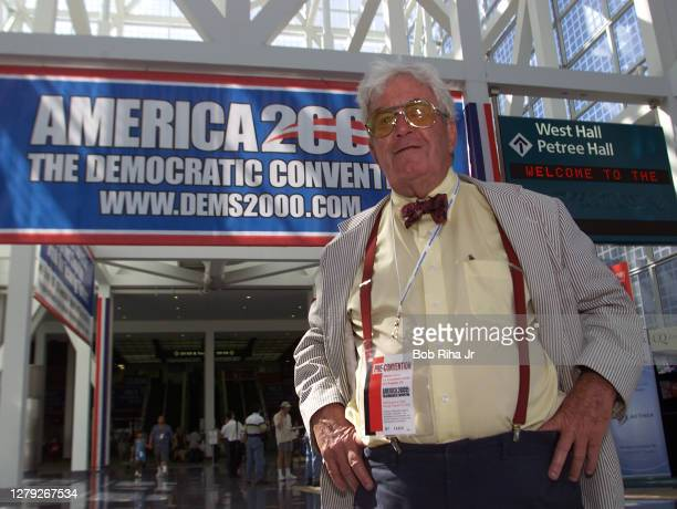 "Dick Tuck famed political prankster at the Democratic National Convention, August 13, 2000 in Los Angeles, California. ""n"