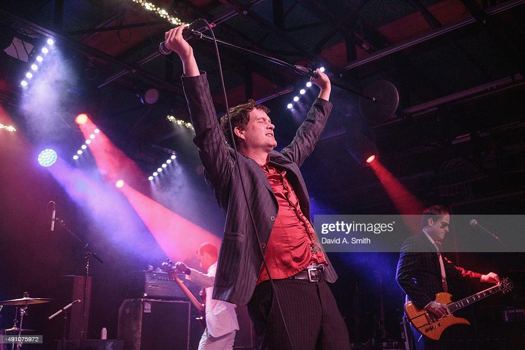 Dick Valentine Of Electric Six Performs At Saturn Birmingham On October 2  2015 In Birmingham Alabama