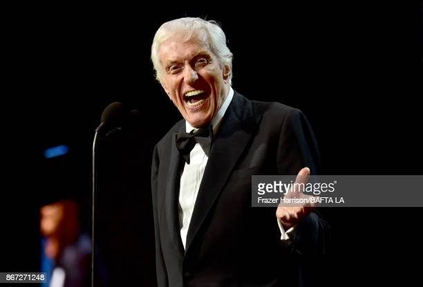 Dick Van Dyke accepts the Britannia Award for Excellence in Television presented by Swarovski onstage at the 2017 AMD British Academy Britannia...