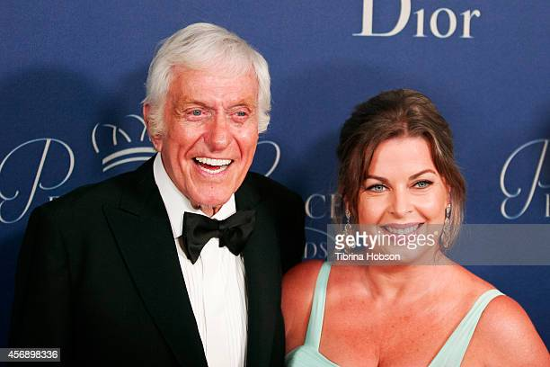 Dick Van Dyke and Arlene Silver attend the 2014 Princess Grace awards gala at the Beverly Wilshire Four Seasons Hotel on October 8 2014 in Beverly...