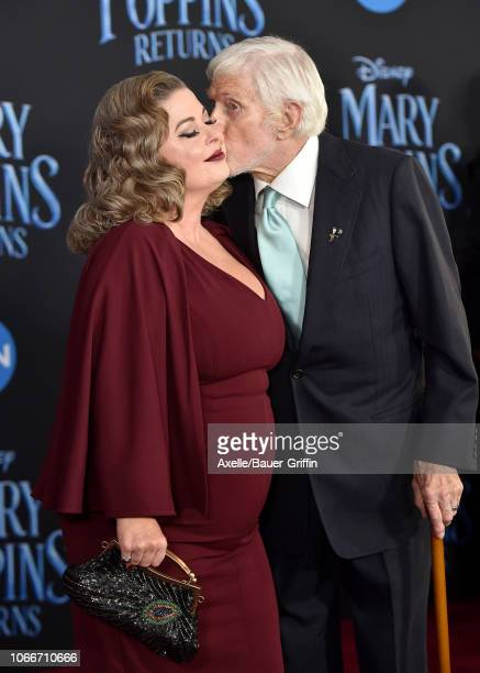Dick Van Dyke and Arlene Silver attend the premiere of Disney's 'Mary Poppins Returns' at El Capitan Theatre on November 29 2018 in Los Angeles...