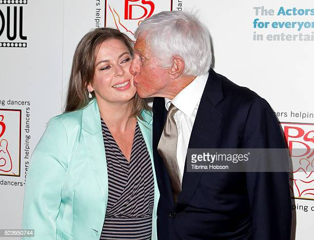 Dick Van Dyke and his wife Arlene Silver attend the Professional Dancer Society's annual Gypsy Awards Luncheon at The Beverly Hilton Hotel on April...