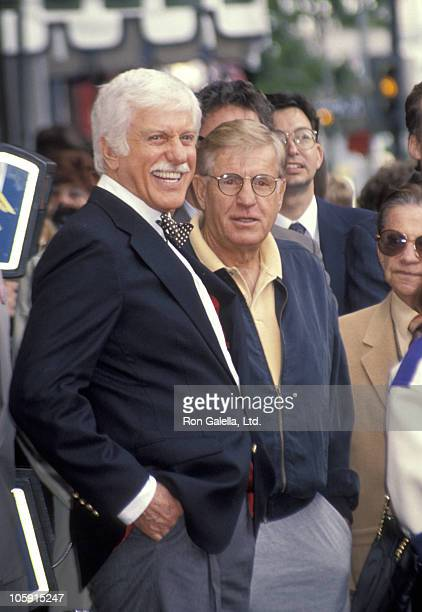 Dick Van Dyke and Jerry Van Dyke during Dick Van Dyke Honored with a Star on the Hollywood Walk of Fame at 7021 Hollywood Blvd in Hollywood...