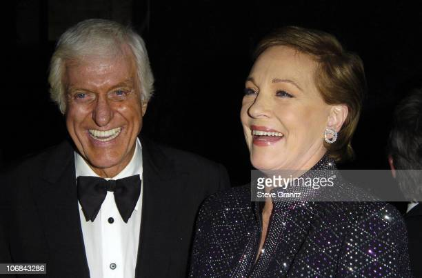 Dick Van Dyke and Julie Andrews during 'Mary Poppins' 40th Anniversary and the Launch of the Special Edition DVD After Party at El Capitan Theatre in...