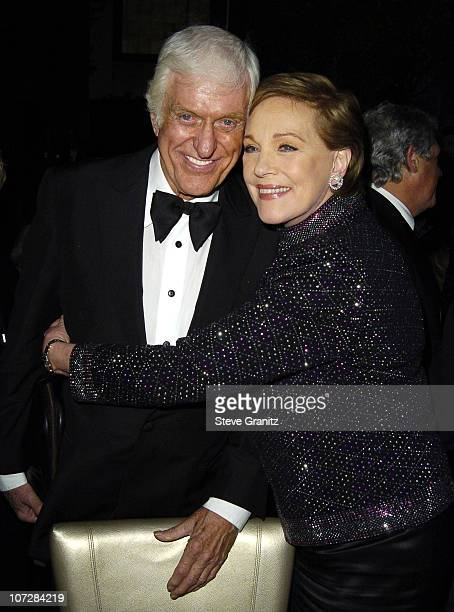 Dick Van Dyke and Julie Andrews during Mary Poppins 40th Anniversary and the Launch of the Special Edition DVD After Party at El Capitan Theatre in...