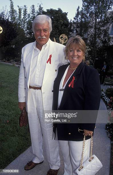 Dick Van Dyke and Michelle Triola during 1992 Primetime Emmy Award Nominee PreParty at Westwood Marquis Hotel in Westwood California United States