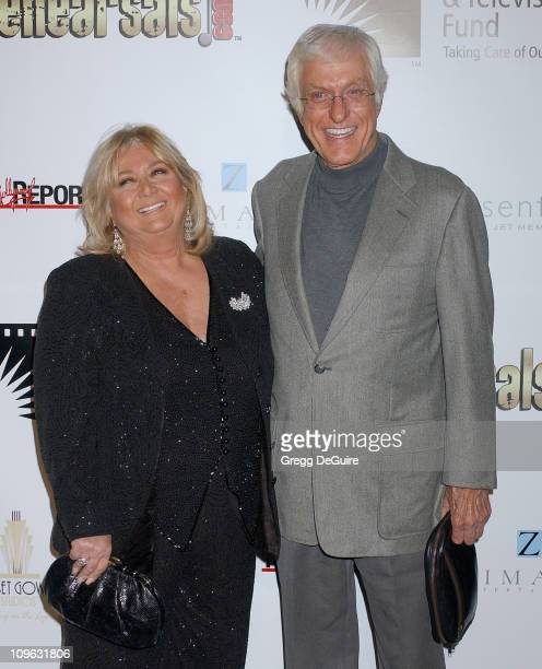 Dick Van Dyke and Michelle Triola during A Fine Romance Gala Benefiting the Motion Picture Television Fund Arrivals at Sunset Gower Studios in...