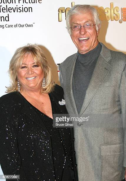 Dick Van Dyke and Michelle Triola during A Fine Romance Gala Benefiting the Motion Picture and Television Fund Arrivals at Sunset Gower Studios in...