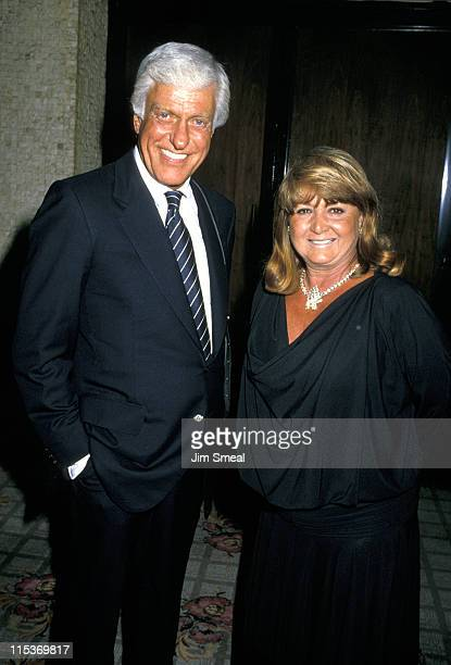Dick Van Dyke and Michelle Triola during ABC Annual Fall Affiliates Dinner June 14 1990 at Century Plaza Hotel in Century City California United...