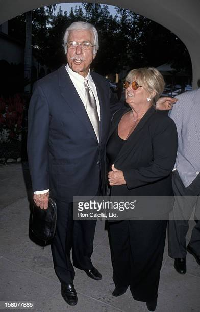 Dick Van Dyke and Michelle Triola during FOX Summer Television Critic Association Press Tour at RitzCarlton Hotel in Pasadena California United States