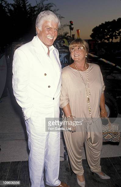 Dick Van Dyke and Michelle Triola during NBC Summer Blast Party at Century Plaza Hotel in Century City California United States