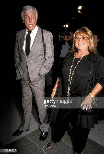 Dick Van Dyke and Michelle Triola during Premiere of Vincent and Theo at The LA Museum of Art November 15 1990 at Los Angeles Museum of Art in Los...