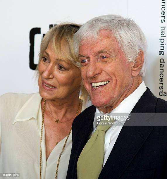 Dick Van Dyke and Sandahl Bergman attend the 28th Annual Gypsy Awards Luncheon The Beverly Hilton Hotel on March 29 2015 in Beverly Hills California