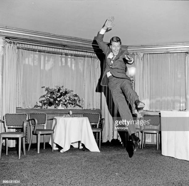 Dick Van Dyke at The Dorchester Hotel. Tomorrow, he begins filming Chitty Chitty Bang Bang by Ian Fleming, at Pinewood Studios. Picture taken 30th...