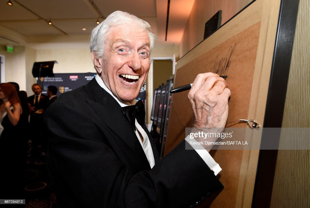 Dick Van Dyke attends the 2017 AMD British Academy Britannia Awards Presented by American Airlines And Jaguar Land Rover at The Beverly Hilton Hotel on October 27, 2017 in Beverly Hills, California.