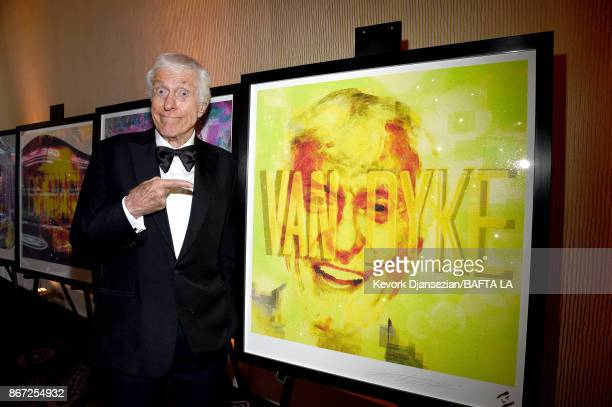 Dick Van Dyke attends the 2017 AMD British Academy Britannia Awards Presented by American Airlines And Jaguar Land Rover at The Beverly Hilton Hotel...