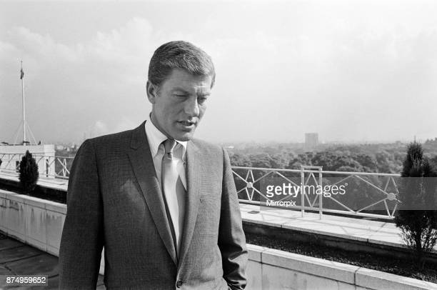 Dick Van Dyke on the roof of The Dorchester Hotel 30th May 1967
