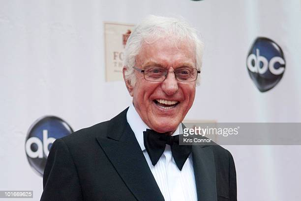 Dick Van Dyke poses on the red carpet during the Ford's Theatre Society Annual Gala at Ford's Theatre on June 6 2010 in Washington DC