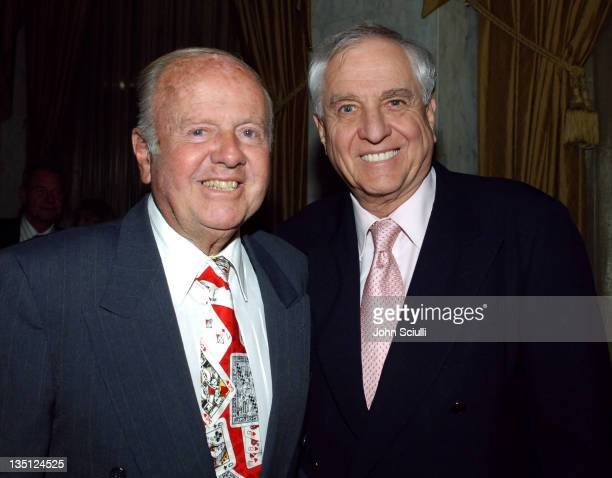 Dick Van Patten and Garry Marshall during The Los Angeles Free Clinic's 29th Annual Dinner Gala - Arrivals at Regent Beverly Wilshire Hotel in...