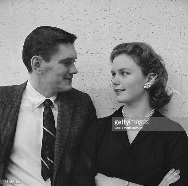 Dick York and Lee Remick in The Last Clear Chance on PLAYHOUSE 90 Image dated February 20 1958