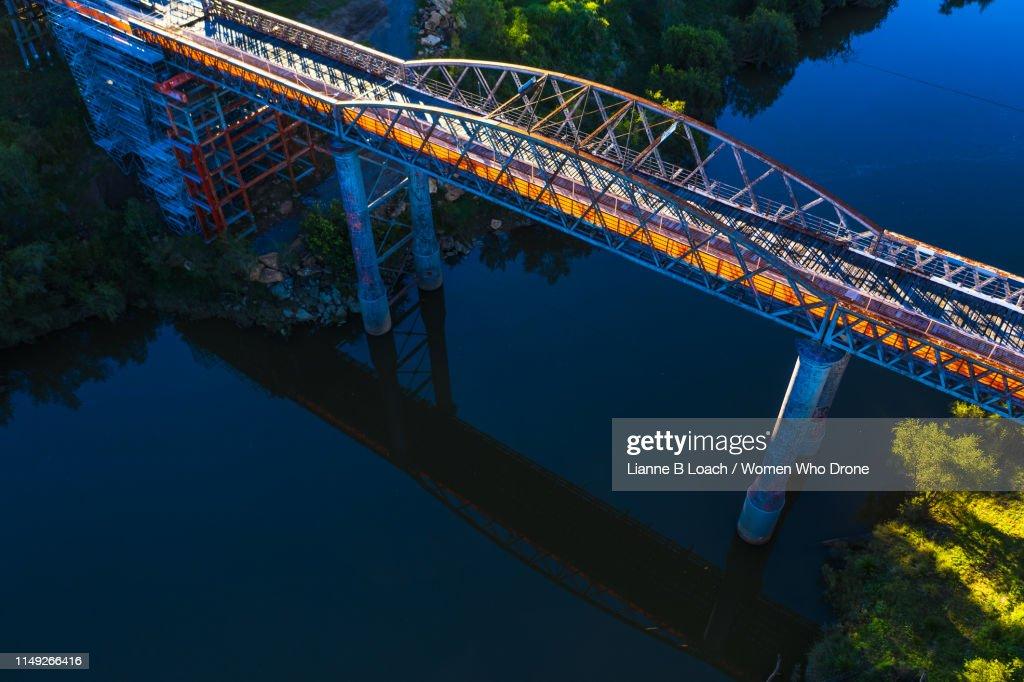Dickabram Bridge : Stock Photo