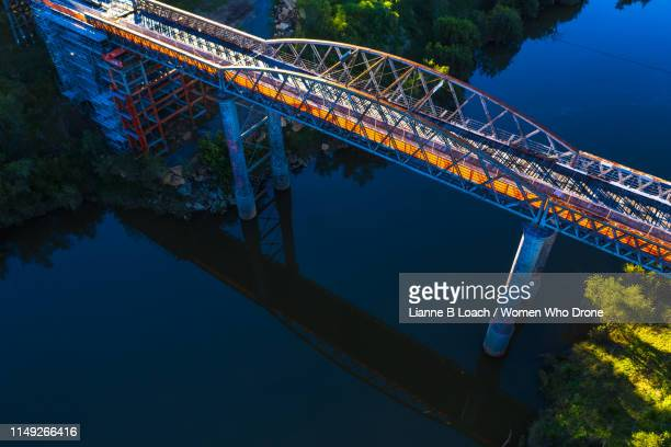 dickabram bridge - lianne loach stock pictures, royalty-free photos & images