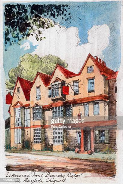 Dickensian Inns Barnaby Rudge the Maypole Chigwell Barnaby Rudge by Charles Dickens c18001850