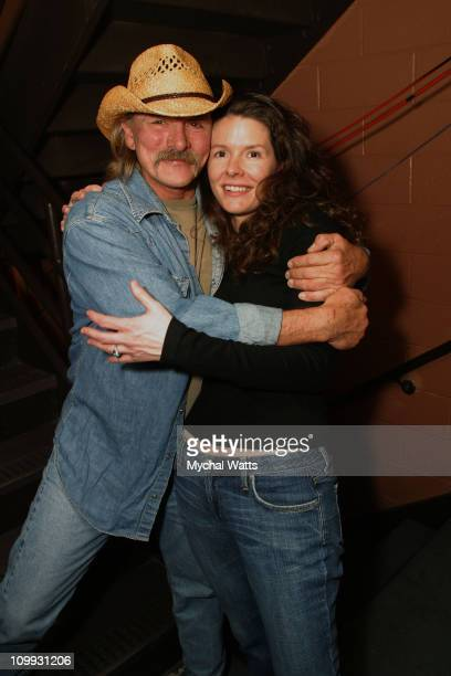 Dickey Betts and Edie Brickel during The 4th Annual Jammy Awards Backstage at The Theater at Madison Square Garden in New York City New York United...