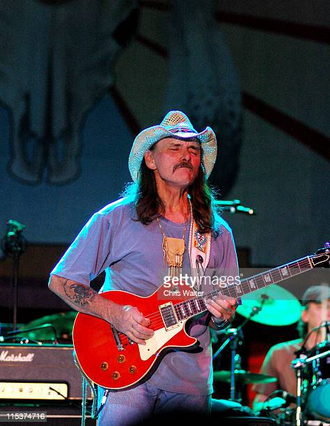 Dickey Betts during 2005 McDowell Mountain Music Festival with Dickey Betts and Jerry Jeff Walker at Westworld of Scottsdale in Phoenix Arizona...