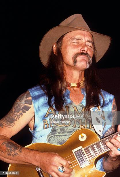 Dickey Betts of the Allman Brothers at Madison Square Garden New York October 1 1990