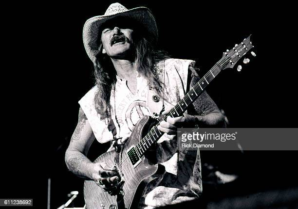 Dickey Betts of The Allman Brothers Band performs at Lakewood Amphitheater in Atlanta Georgia Circa 1993