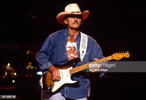 Dickey Betts of the Allman Brothers Band performs at Shoreline Amphitheatre on August 1 1999 in Mountain View California