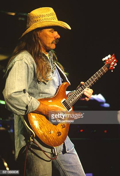 Dickey Betts performs at Shoreline Amphitheatre on July 31 1994 in Mountain View California