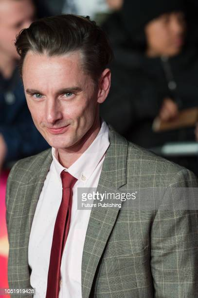 Dickie Beau attends the UK film premiere of 'Colette' at Cineworld Leicester Square during the 62nd London Film Festival BFI Patrons Gala October 11...