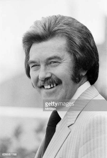 Dickie Davies at the London Weekend Studios. He will be presenting coverage of the 1980 Olympic Games. 11th July 1980.