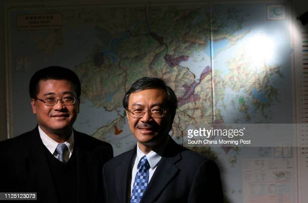 Dickson Lo Dicksang President of Maunsell AECOM Group and Tony Shum Chunkin Regional Chief Executive Officer Asia of AECOM Technology Corporation...