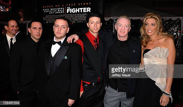 """Dicky Eklund and family attend """"The Fighter"""" Los Angeles premiere at Grauman's Chinese Theater on December 6, 2010 in Hollywood, California."""