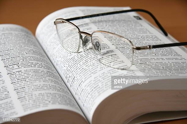Dictionary and Eyeglasses
