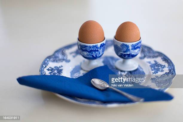 did someone mention eggs? - two objects stock photos and pictures