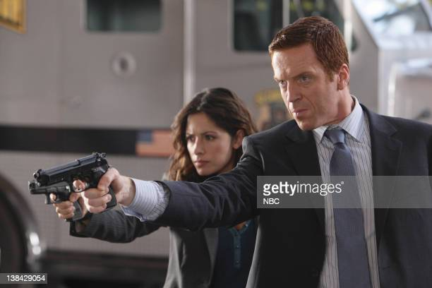 LIFE 'Did You Feel That' Episode 6 Aired Pictured Sarah Shahi as Dani Reese Damian Lewis as Charlie Crews