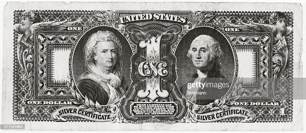 Reproduction $1 Educational 1896 Silver Certificate George /& Martha Washington