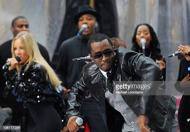 Diddy and Shannon Bex of Making the Band 3's Danity Kane