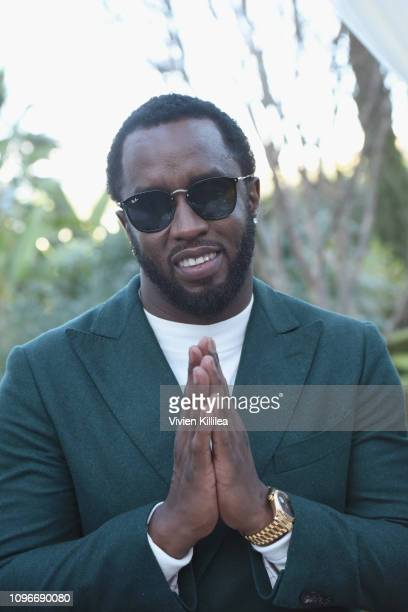 Diddy attends 2019 Roc Nation THE BRUNCH on February 9 2019 in Los Angeles California