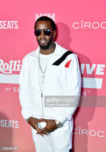Diddy attends the MCM x Rolling PreSuper Bowl Event at SLS Miami on February 02 2020 in Miami Florida